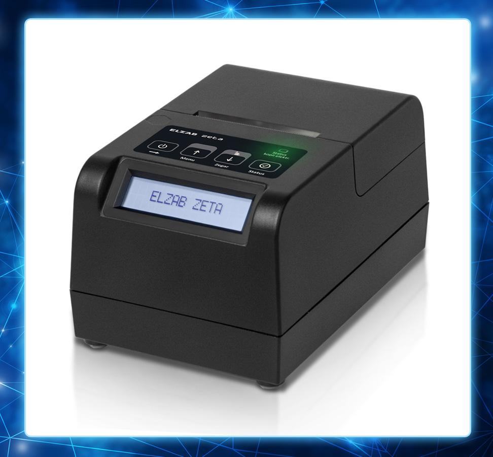 Zeta - kompaktowa drukarka fiskalna od Elzab