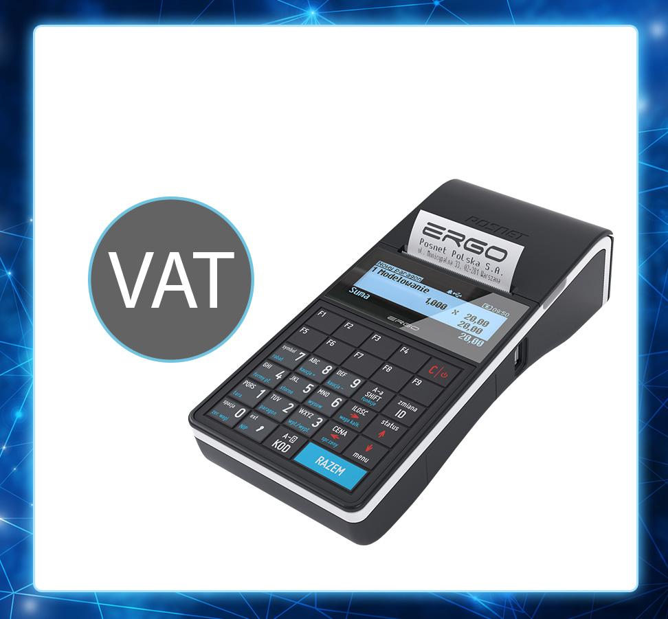 Zmiana przypisania stawek VAT